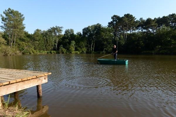 Pêche a la Carpe  en Dordogne